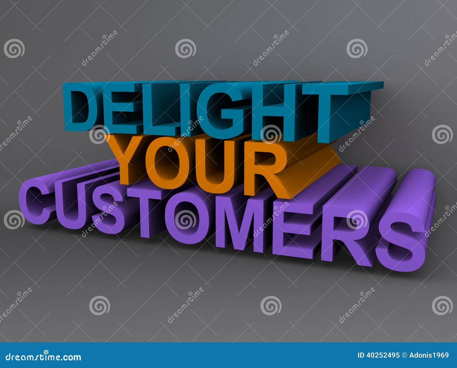 Diletti i vostri clienti