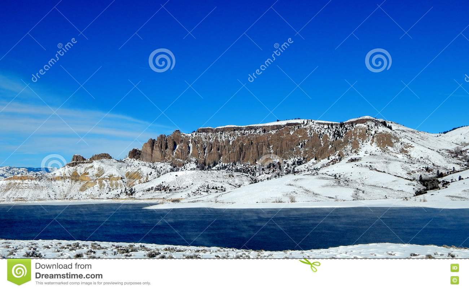Dillon Pinnacles bei blauen Mesa Reservoir, Colorado