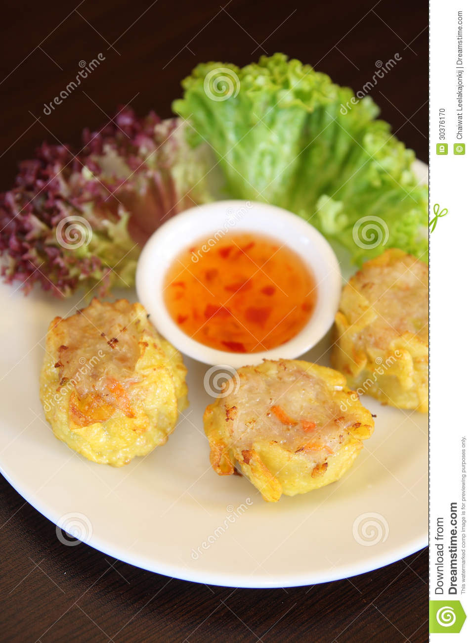 Dim sim dumpling chinese appetizer stock photo image for Appetizer chinese cuisine