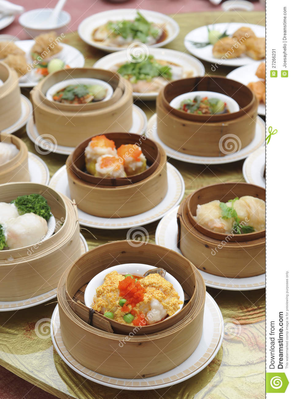 Dim sum asian cuisine menu stock image image 27266231 for Asian cuisine buffet