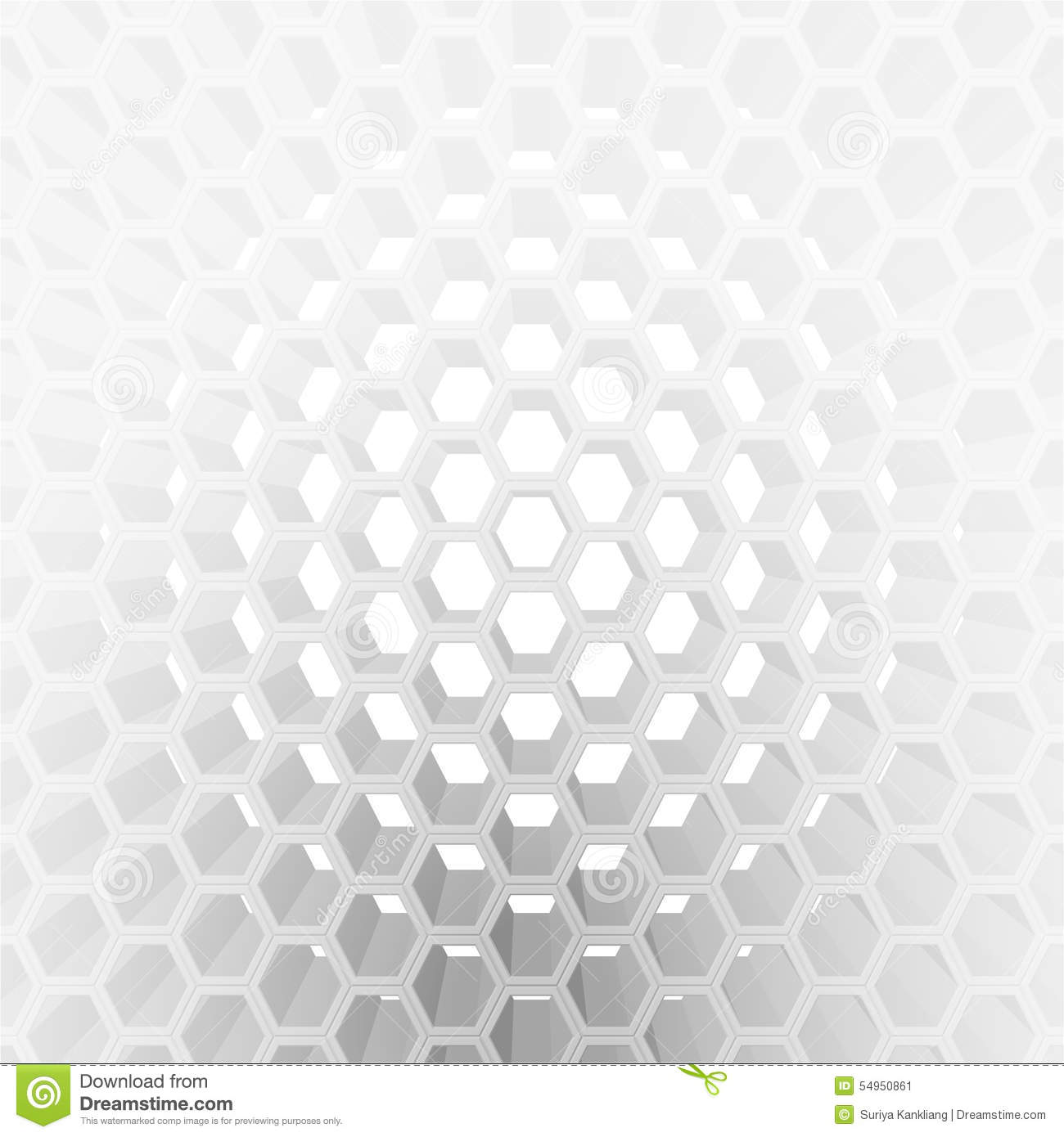 3 Dimension Honeycomb Pattern Stock Illustration - Image ...