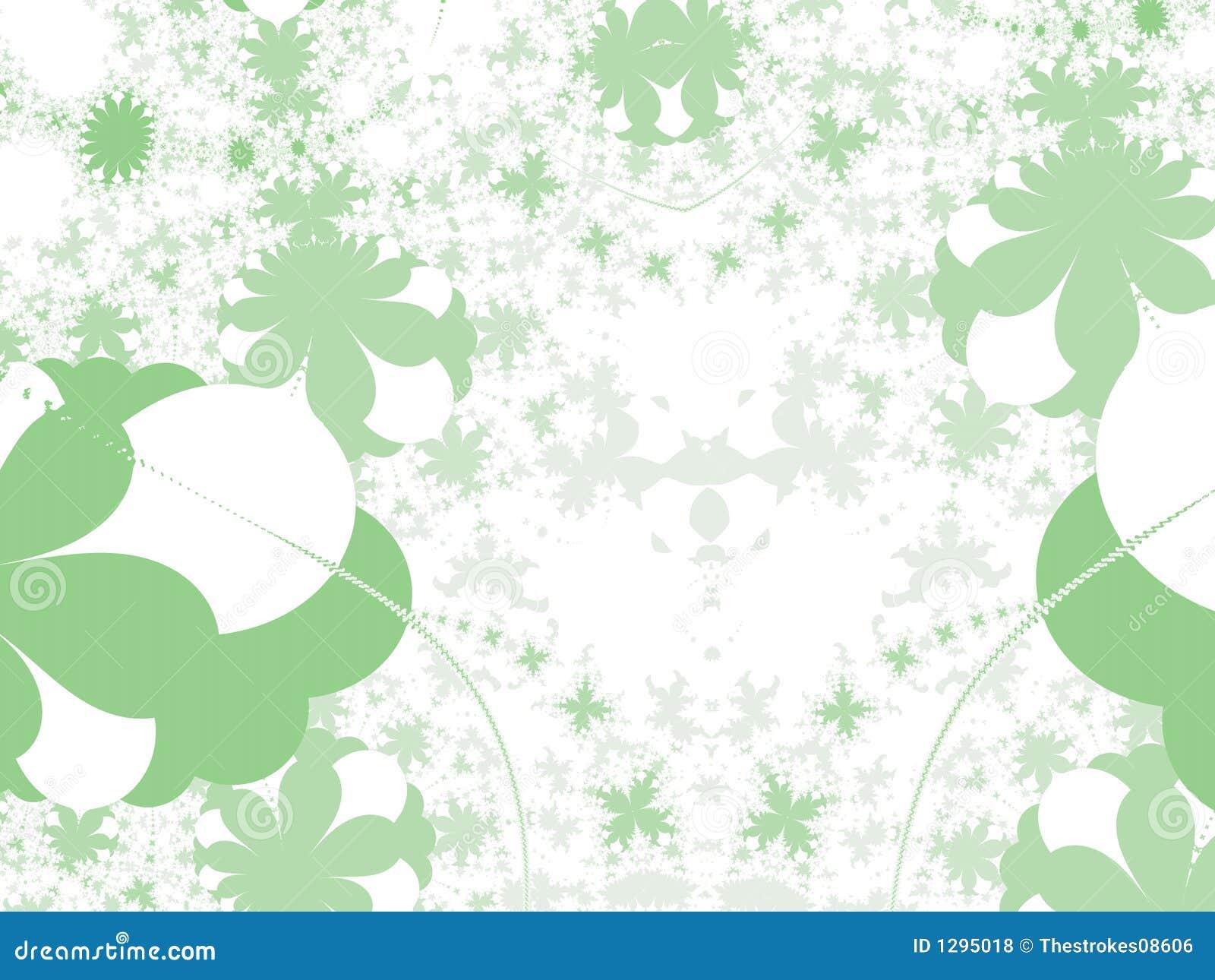 Dimensiones de una variable del verde - ilustración