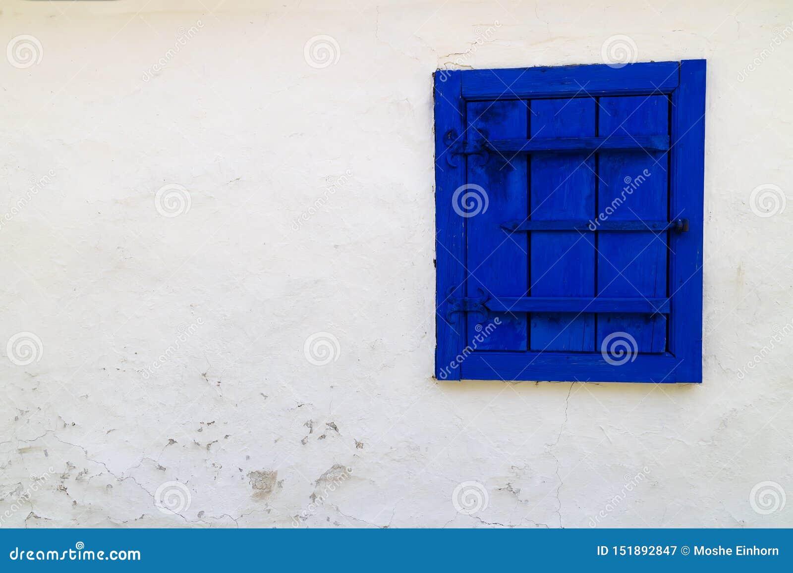 Dimitrie Gusti National Village Museum - A Blue Window