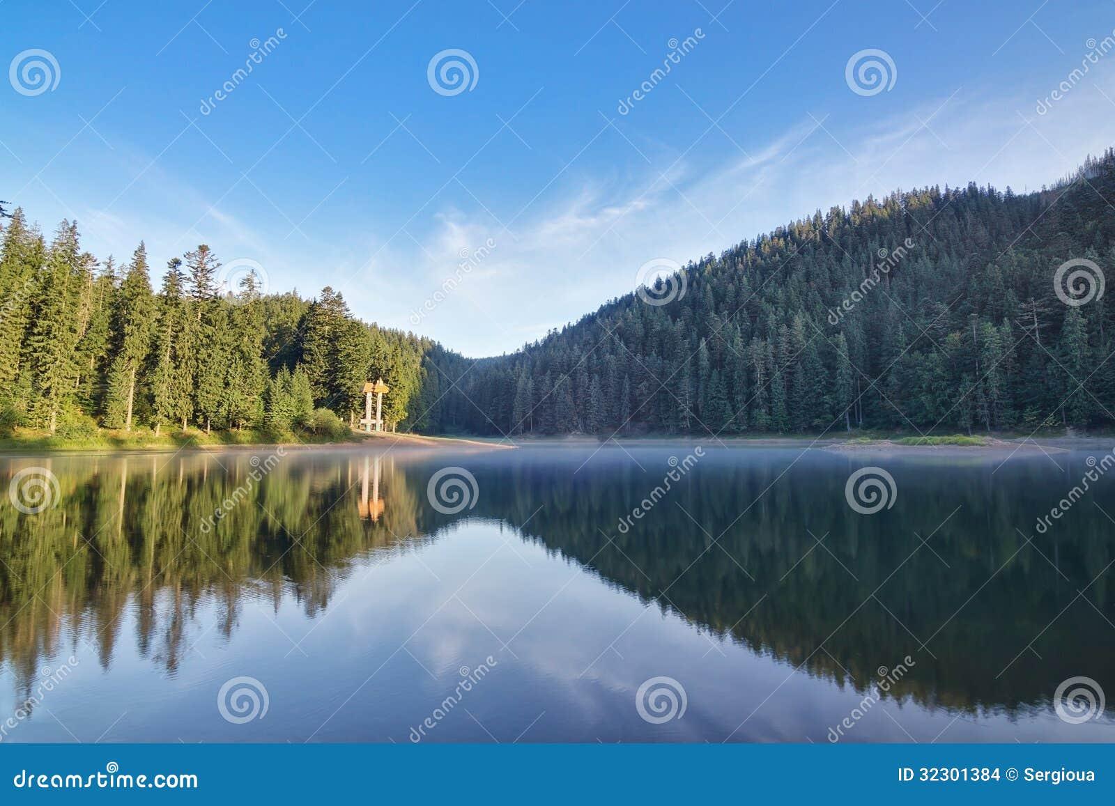 Dimma i bergen Carpathians, Sinevir