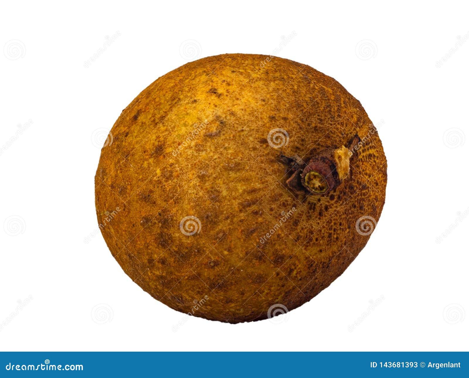Dimocarpus longan świeżej owoc makro- odosobniony na białym tle