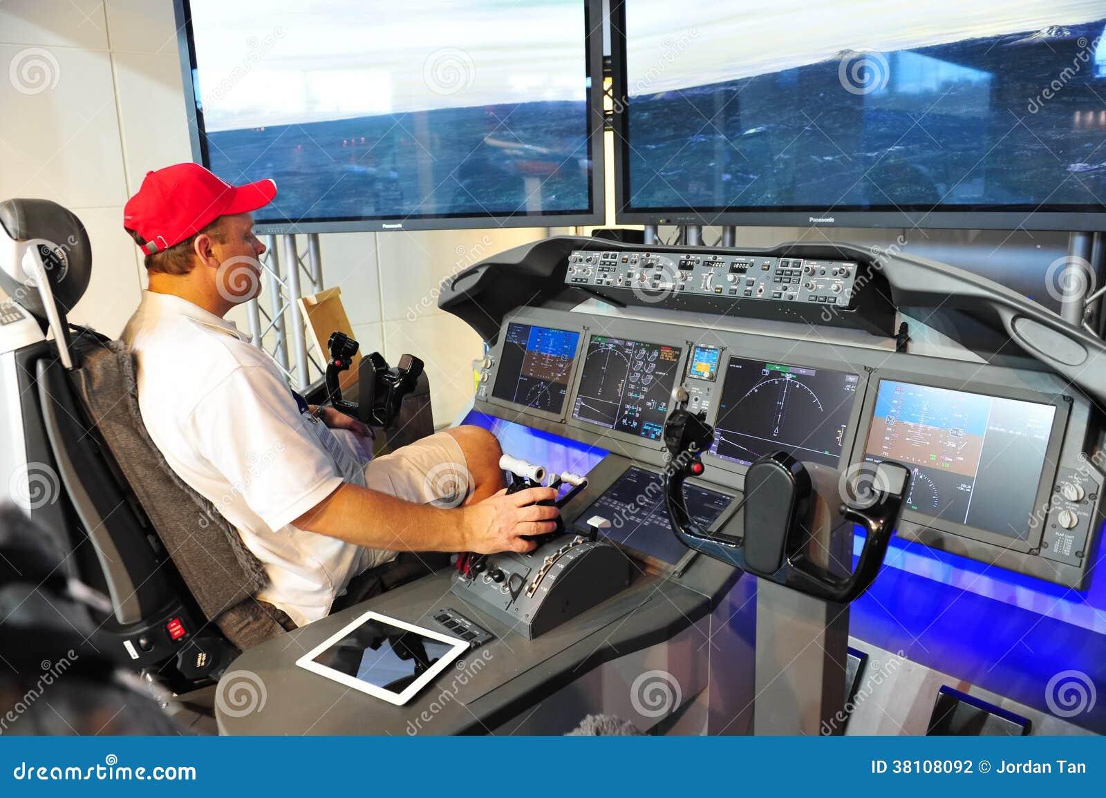 Dimostratore della cabina di pilotaggio di boeing 787 for Animali domestici della cabina di nashville
