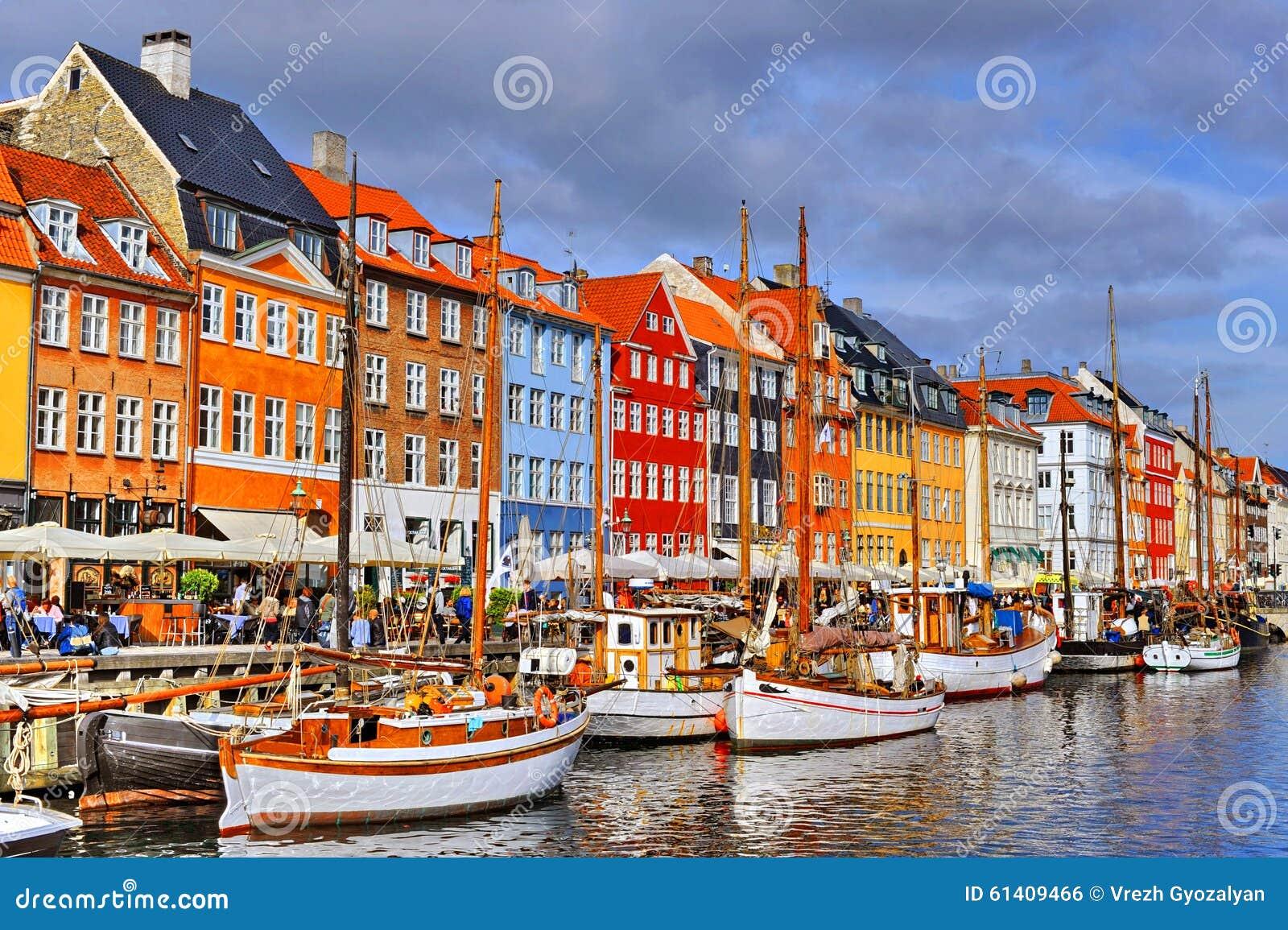 Dinamarca Copenhague Nyhavn