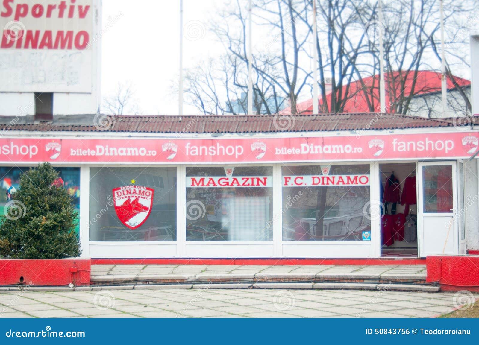 Dinamo Football Club Fan Shop Editorial Photo Image Of Sports