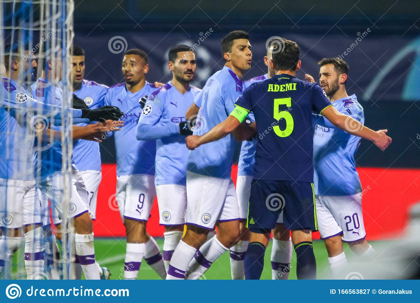 Dinamo Zagreb Vs Manchester City Editorial Photography Image Of League Adult 166563827