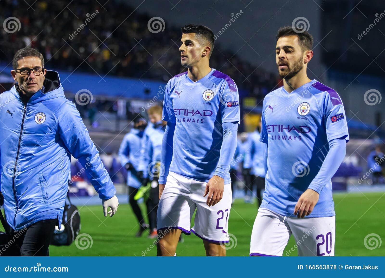 Dinamo Zagreb Vs Manchester City Editorial Stock Photo Image Of Grass League 166564053