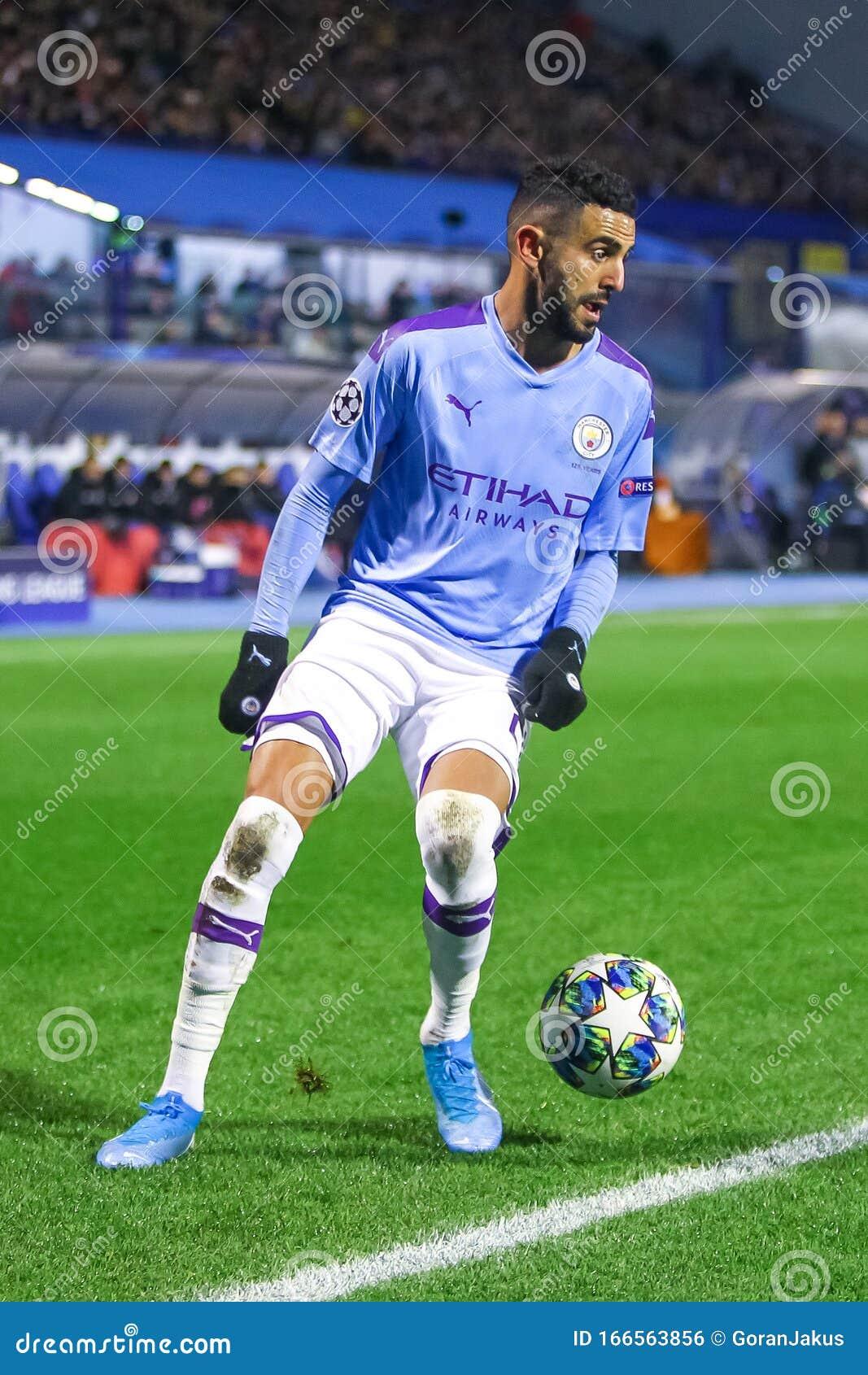 Dinamo Zagreb Vs Manchester City Editorial Photo Image Of Outdoor Mahrez 166563856