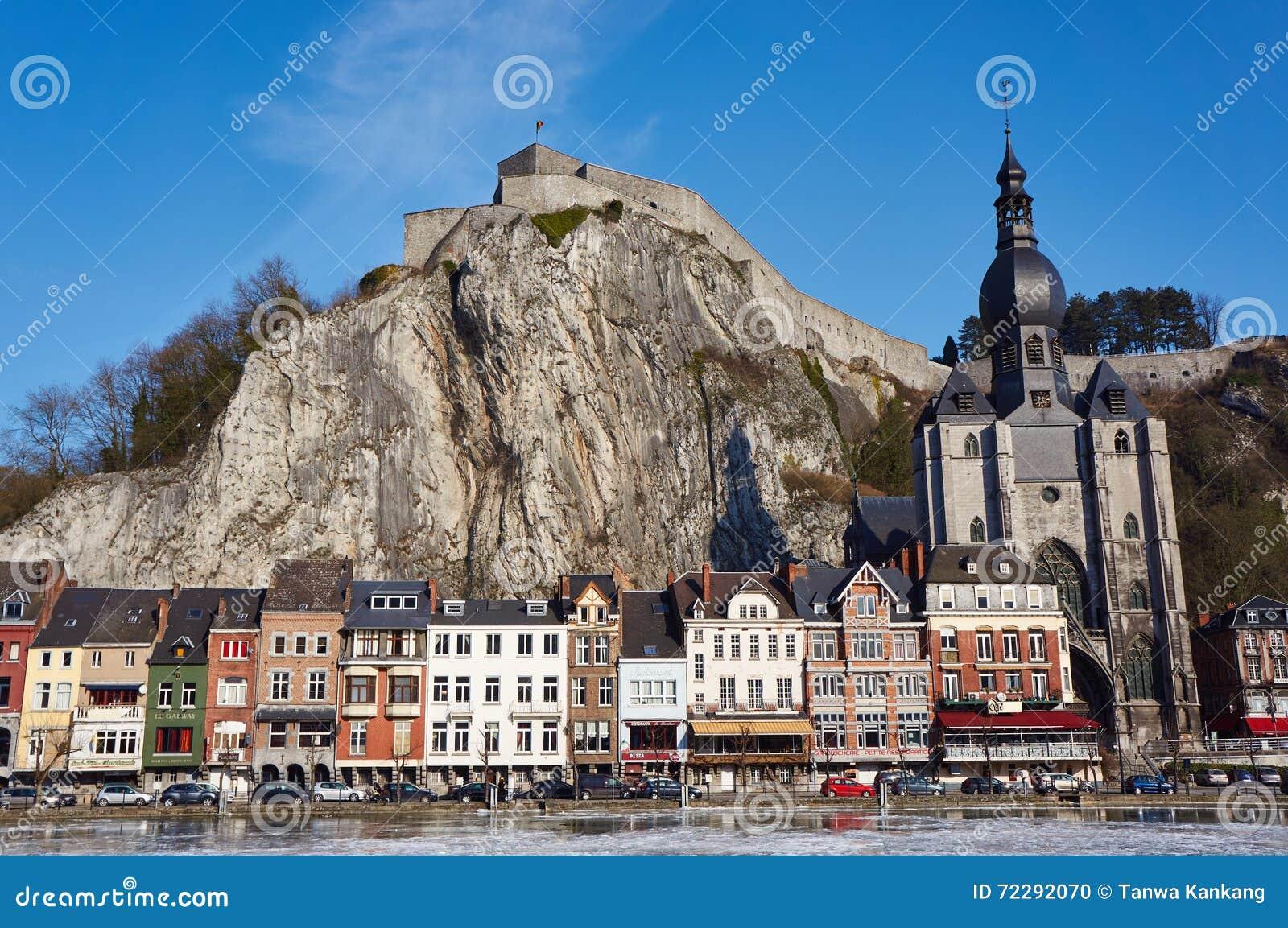 Download Dinant, Бельгия стоковое фото. изображение насчитывающей belfast - 72292070