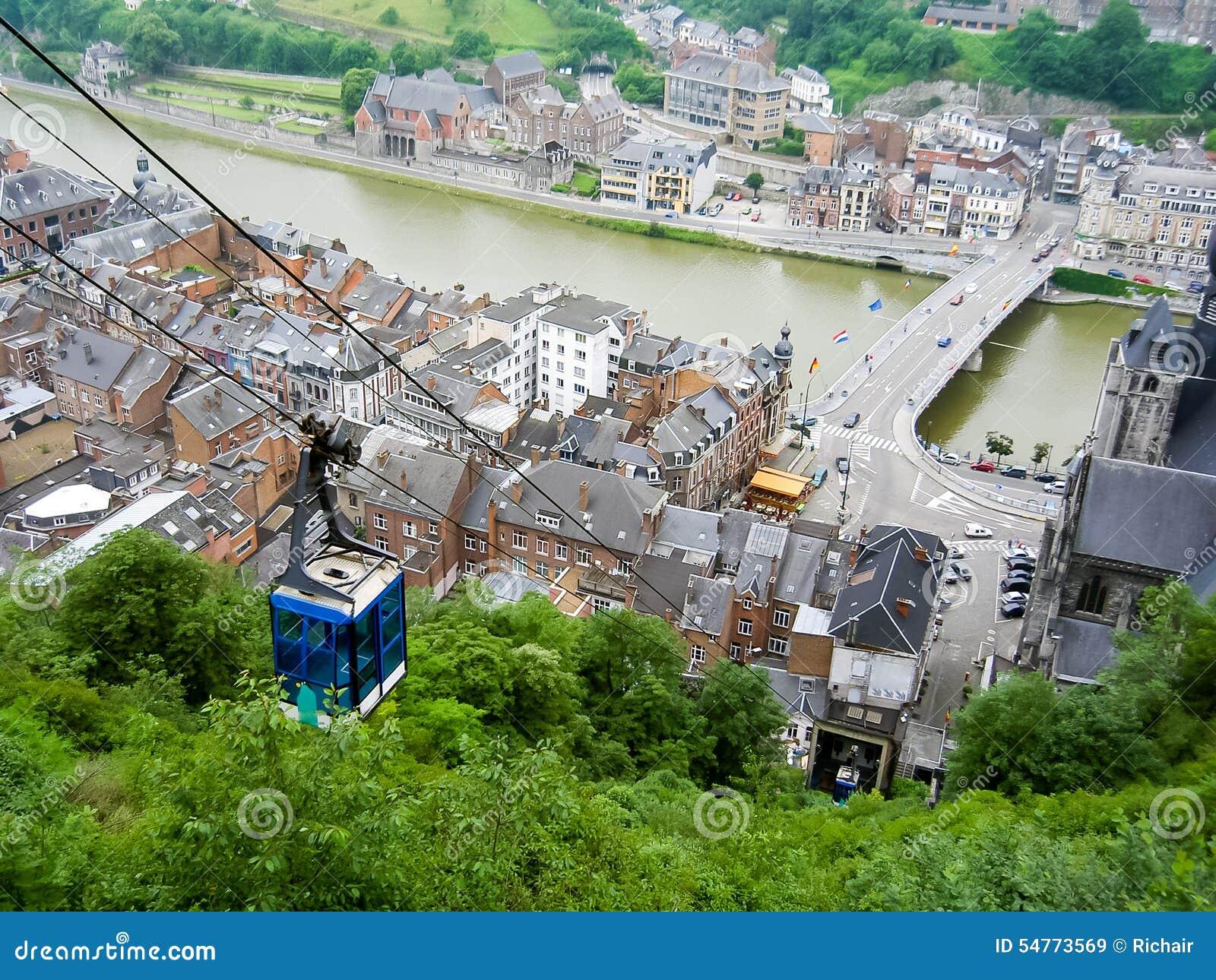 Dinant belgique image stock image du r gion fleuve 54773569 - Office du tourisme de dinant ...