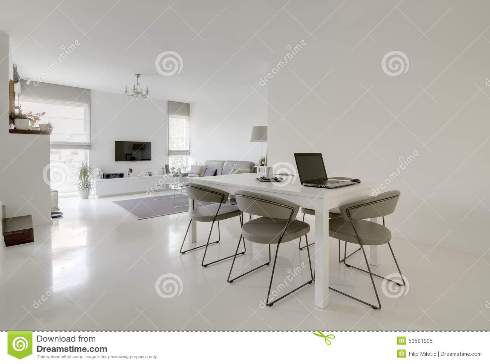 Diner et salle de séjour