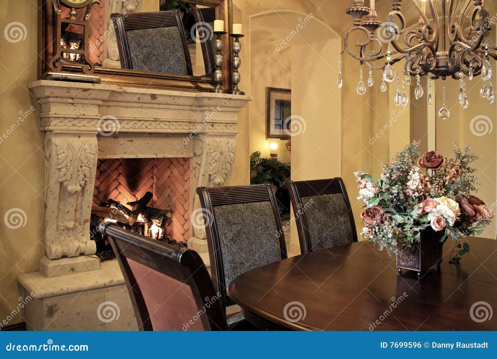 Diner la pièce moderne à la maison