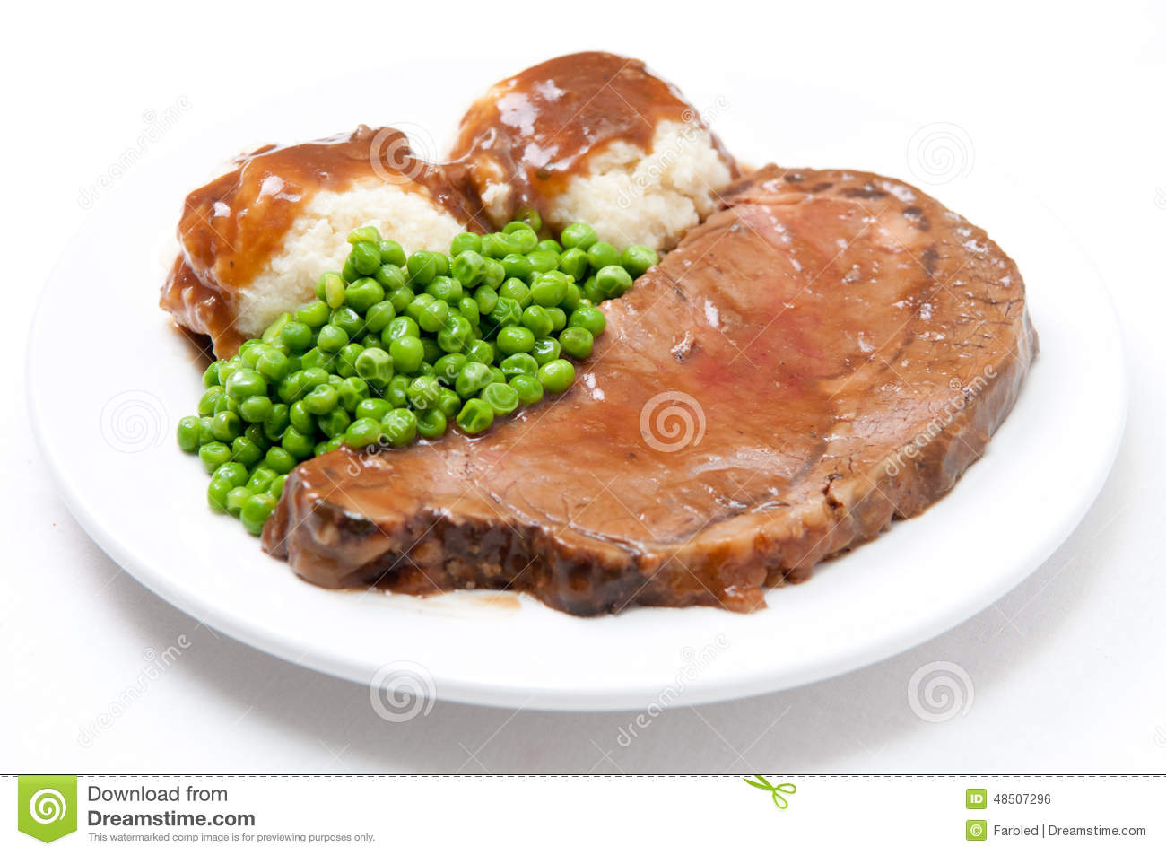 Diner style roast beef stock photo. Image of loaf ...