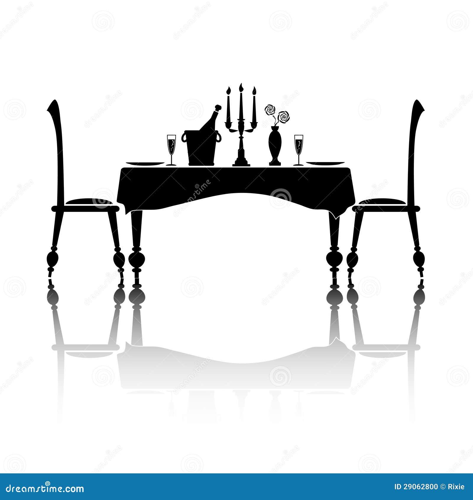 Diner voor twee stock foto afbeelding 29062800 - Ch amber voor twee ...