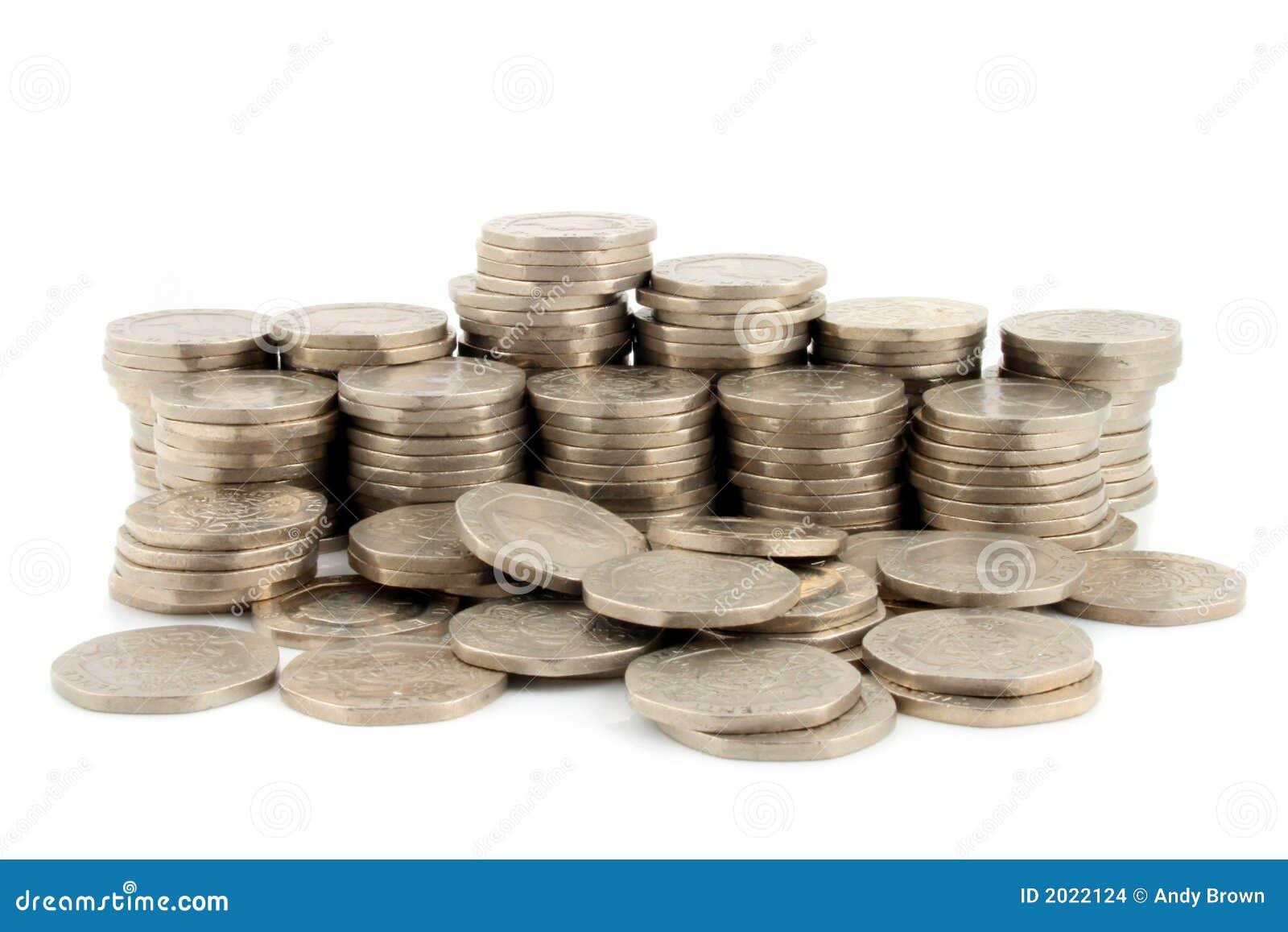 Dinero - 20 pedazos 3 de los peniques