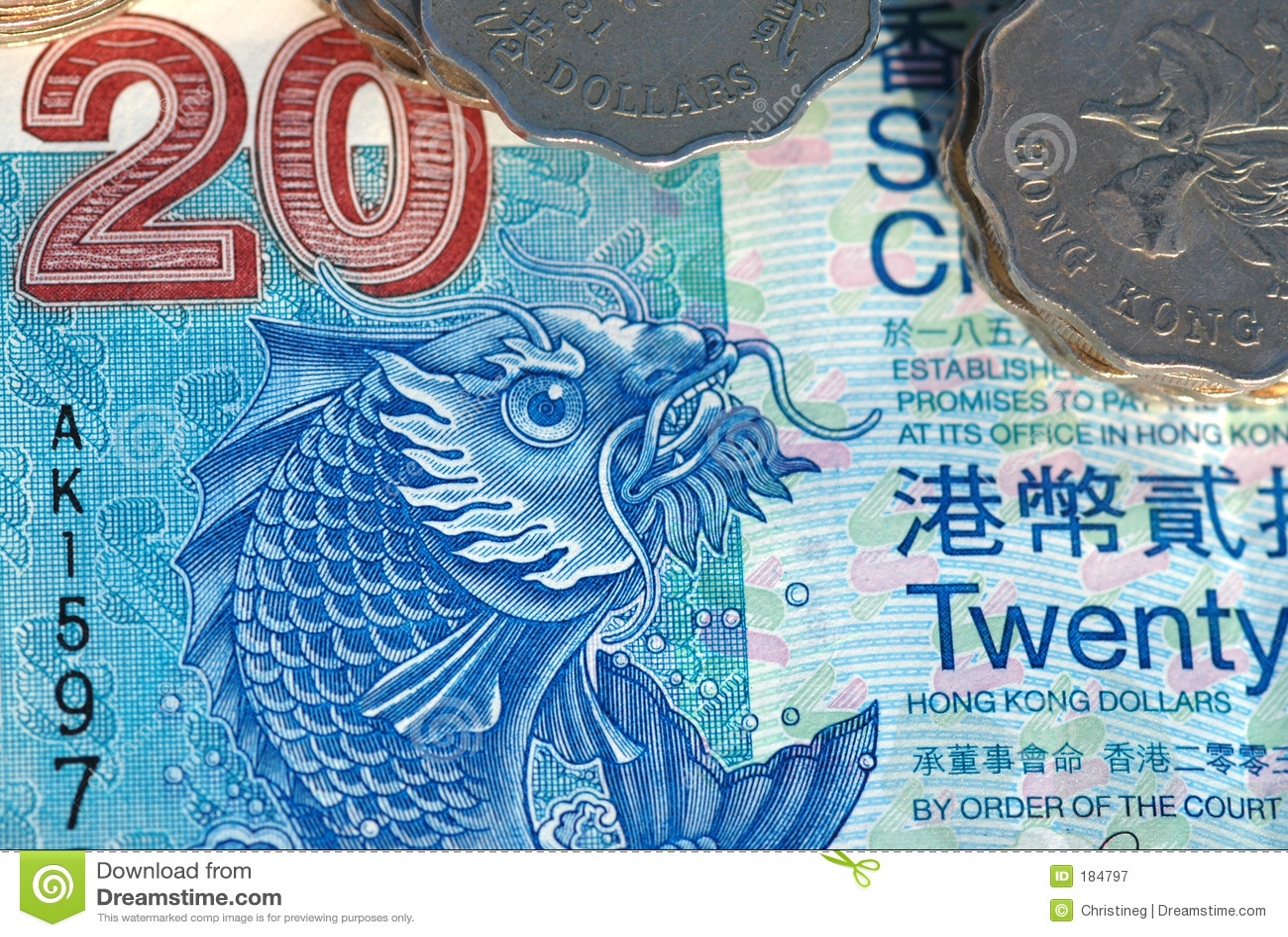 Dinero de Hong-Kong
