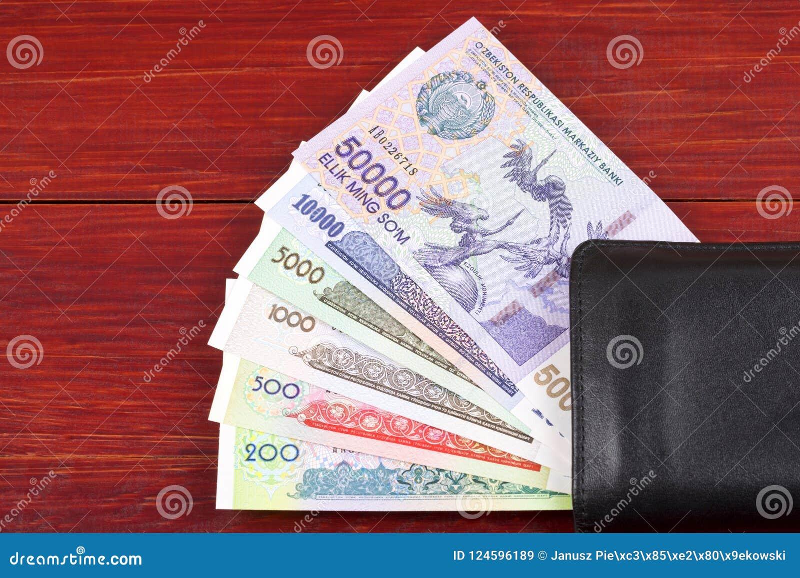Dinero de Uzbekistán