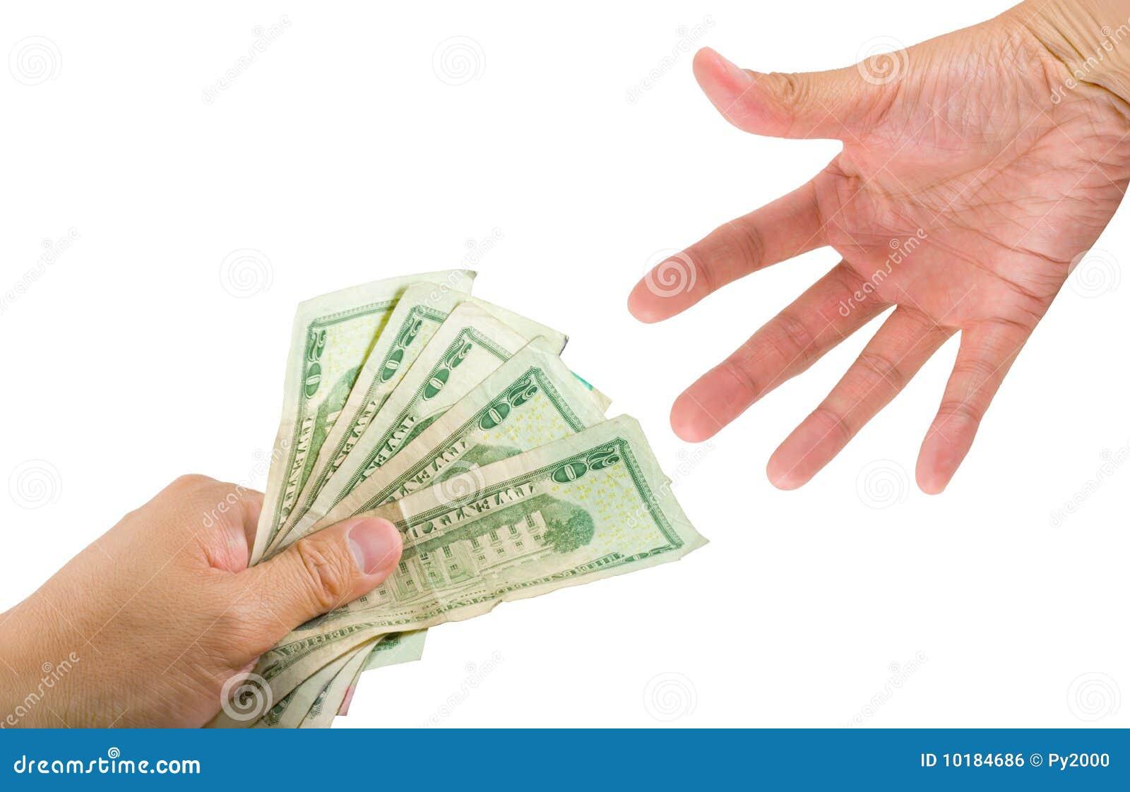 Dinero del préstamos