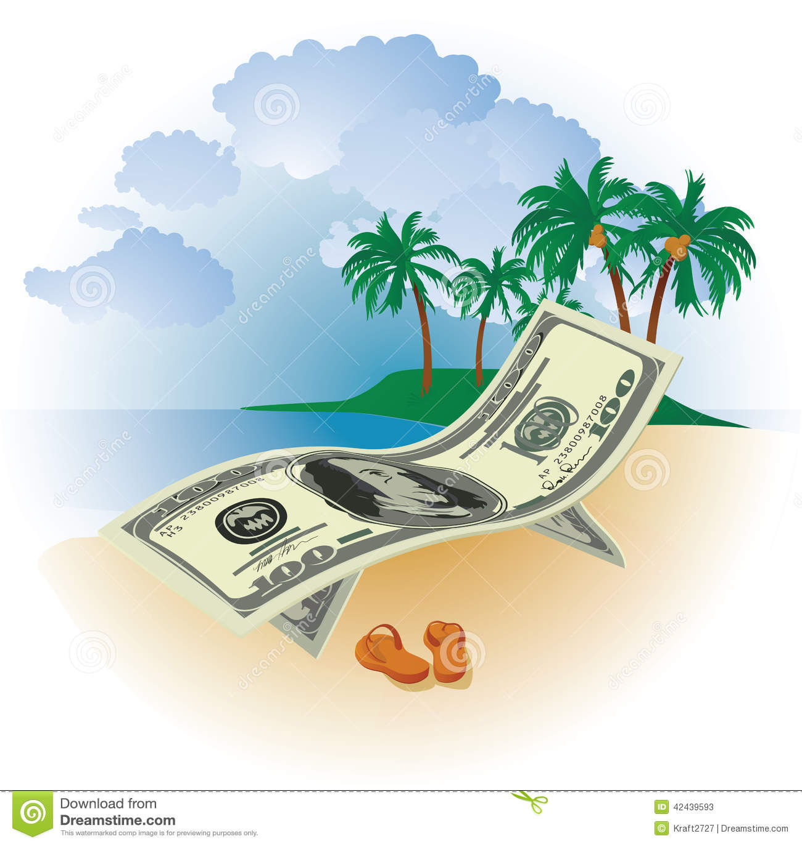 Dinero el vacaciones
