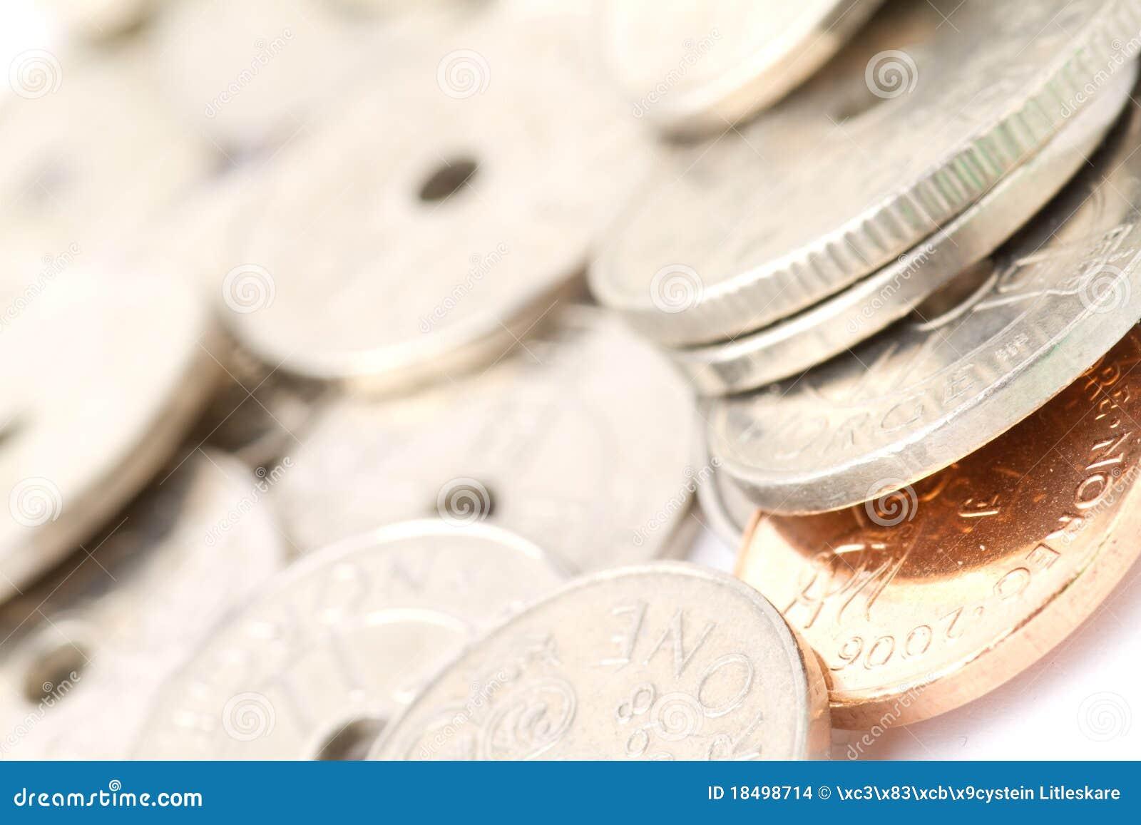Dinero en circulación noruego