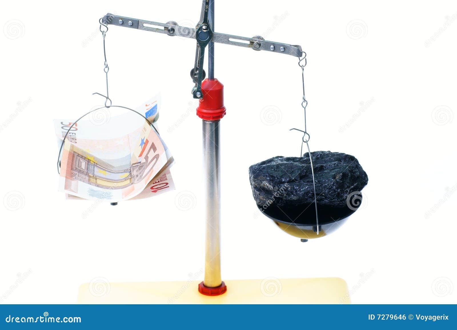 Dinero y carbón