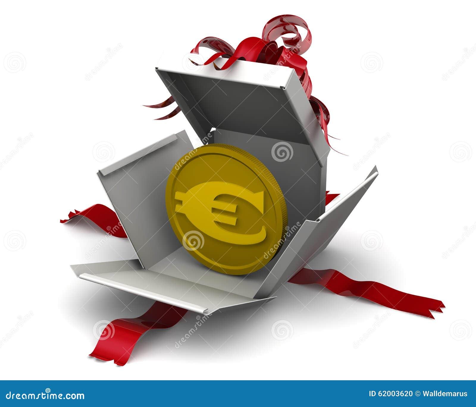 Dinheiro como um presente