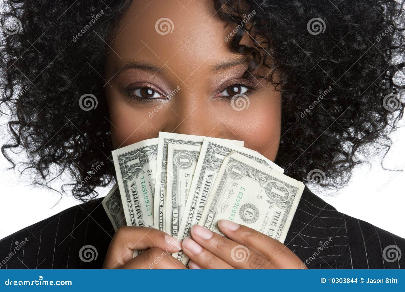 Dinheiro da terra arrendada da mulher