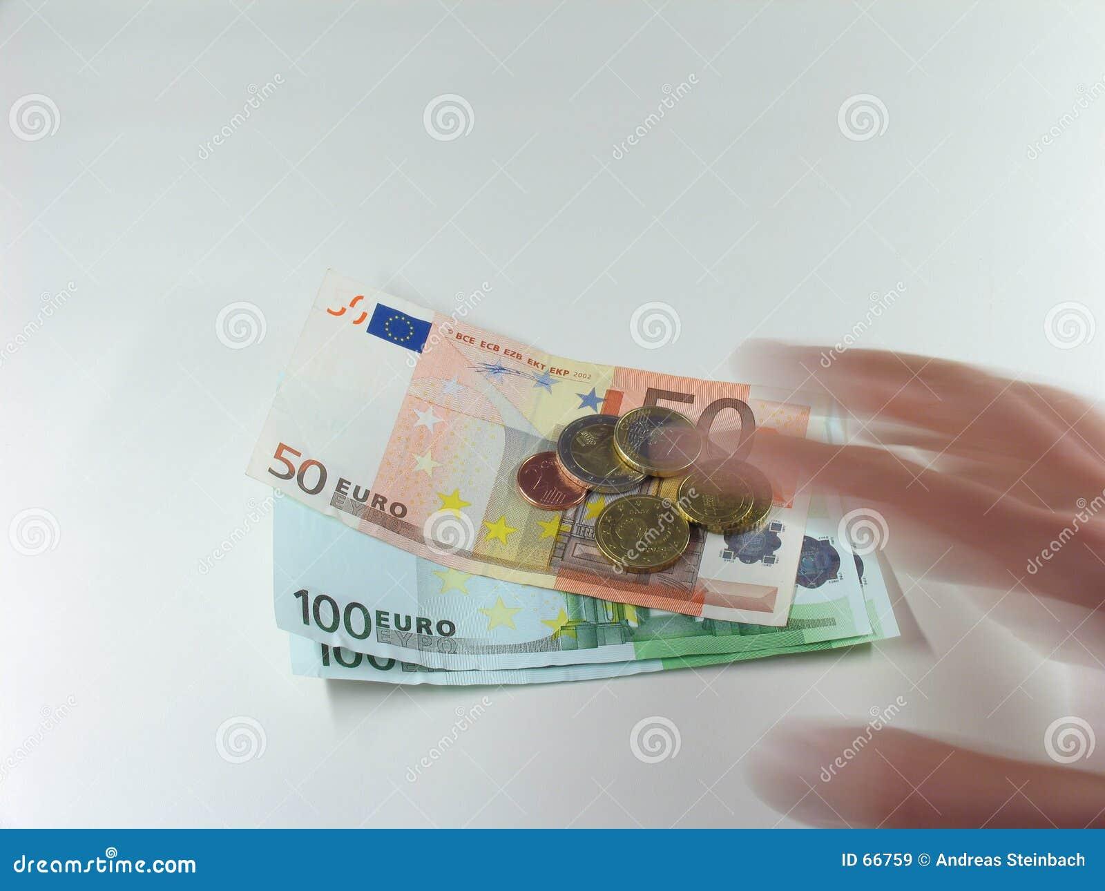 Dinheiro de agarramento
