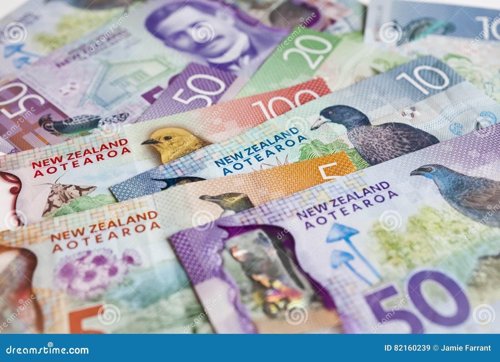 Dinheiro de Nova Zelândia