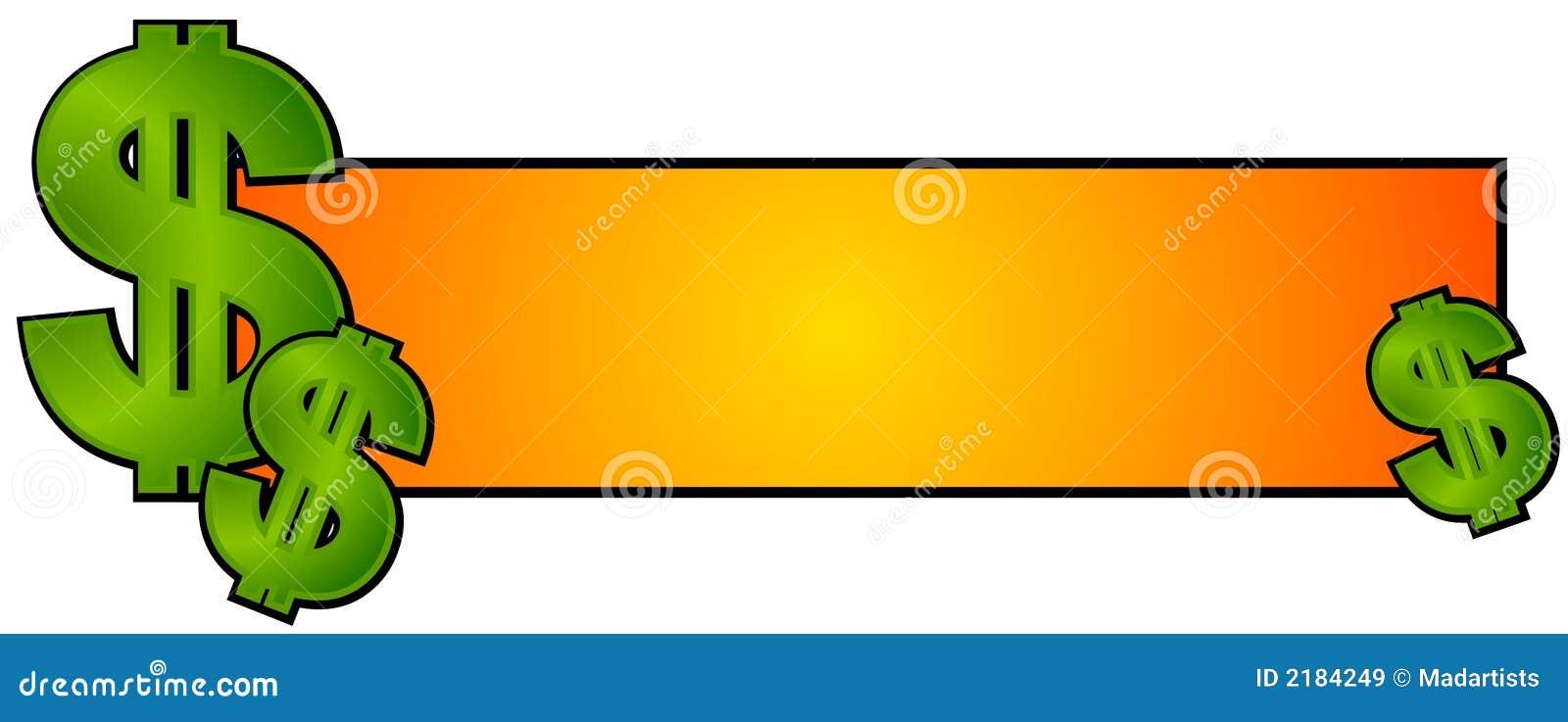 Dinheiro do dinheiro do logotipo do Web page