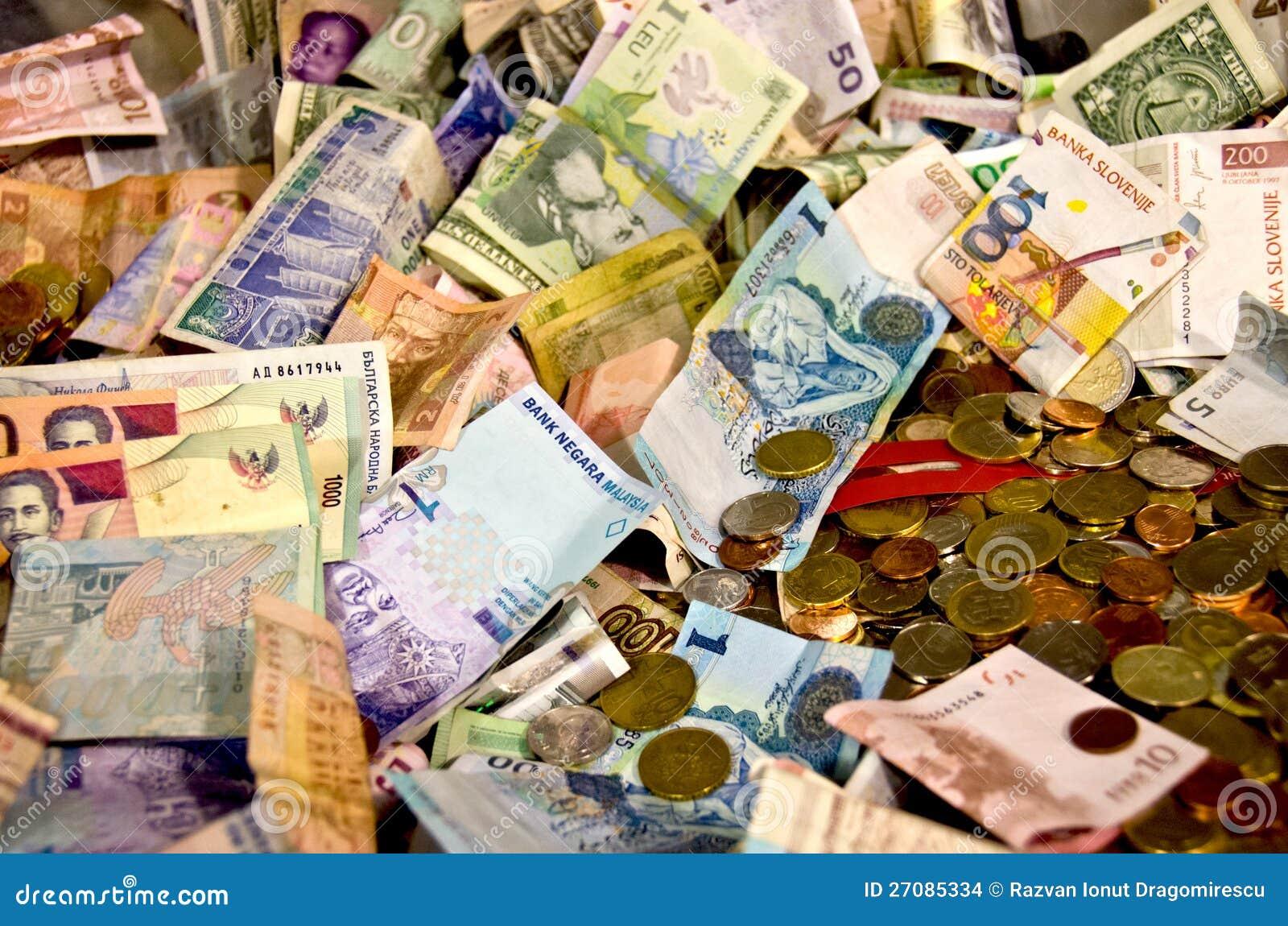 Dinheiro do mundo