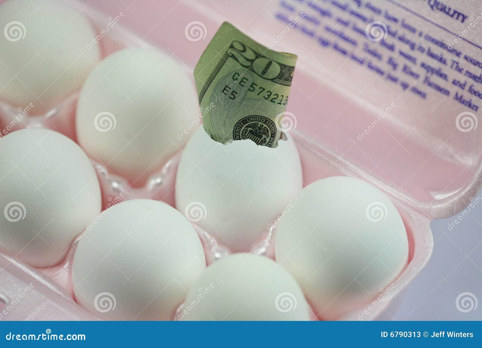 Dinheiro do ovo
