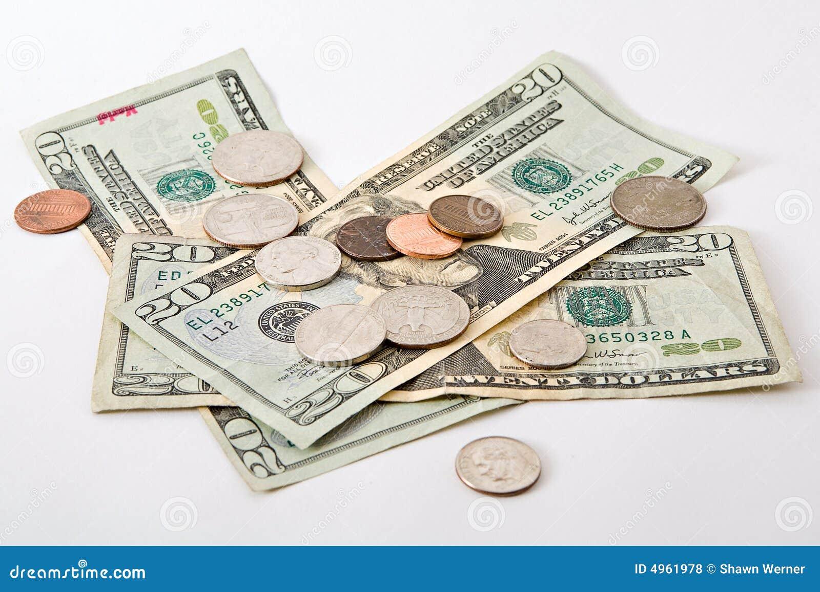 Dinheiro e moedas