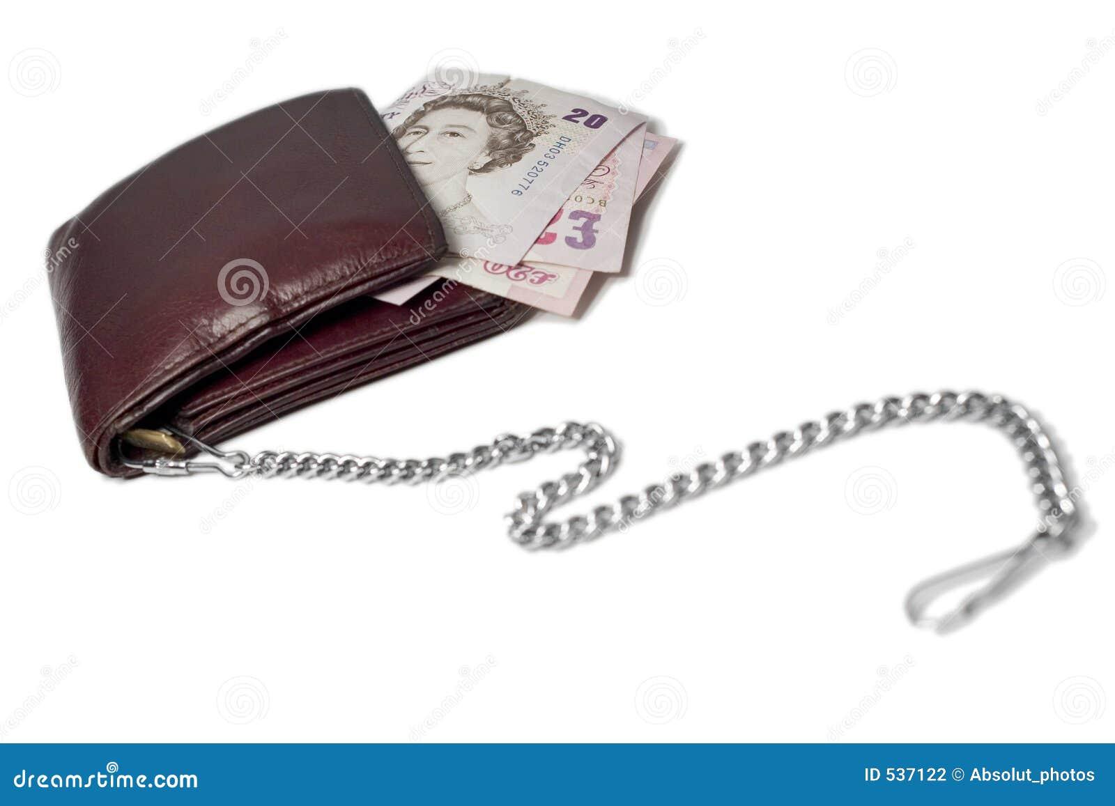 Dinheiro em uma corrente