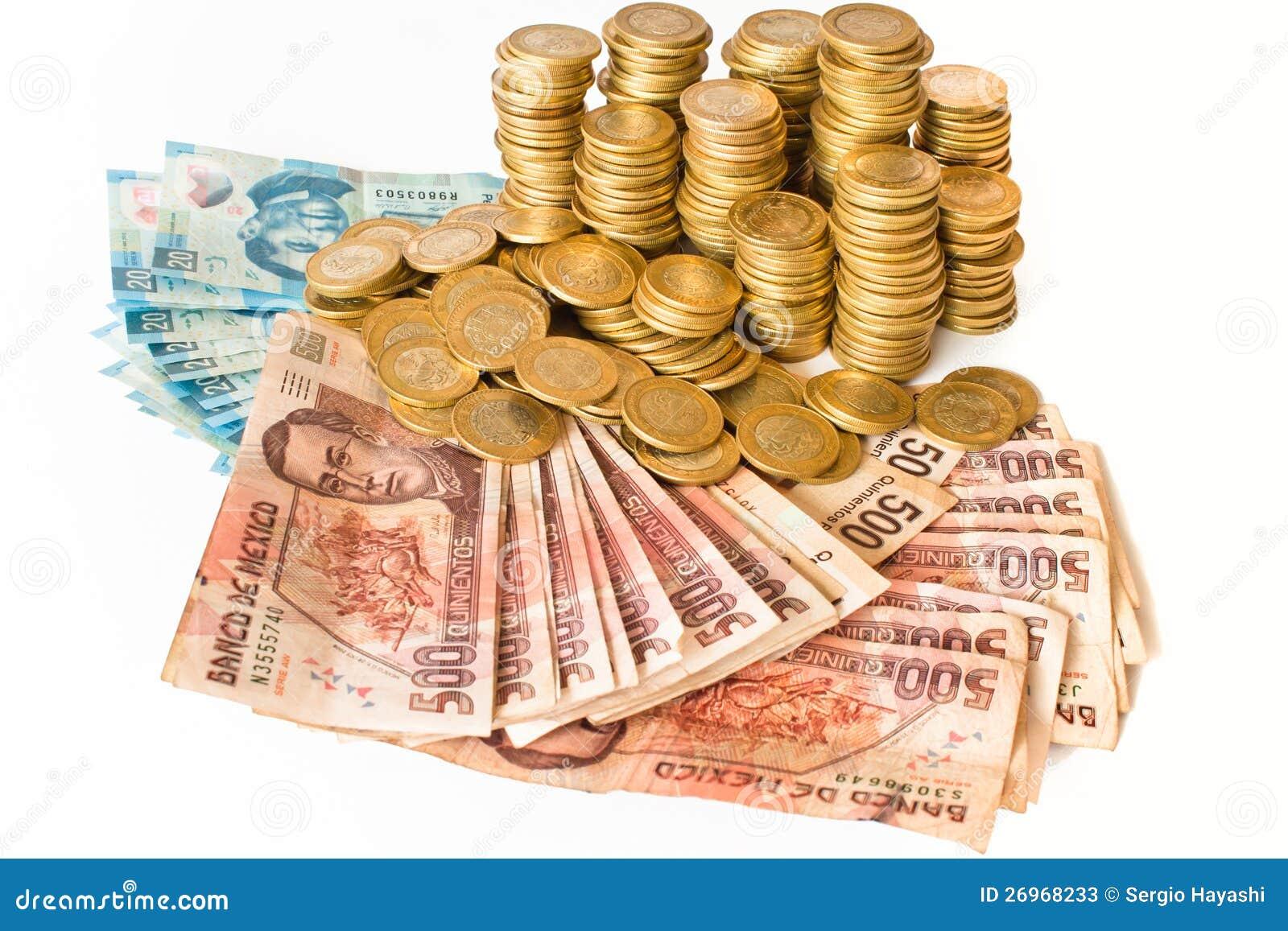 Dinheiro mexicano
