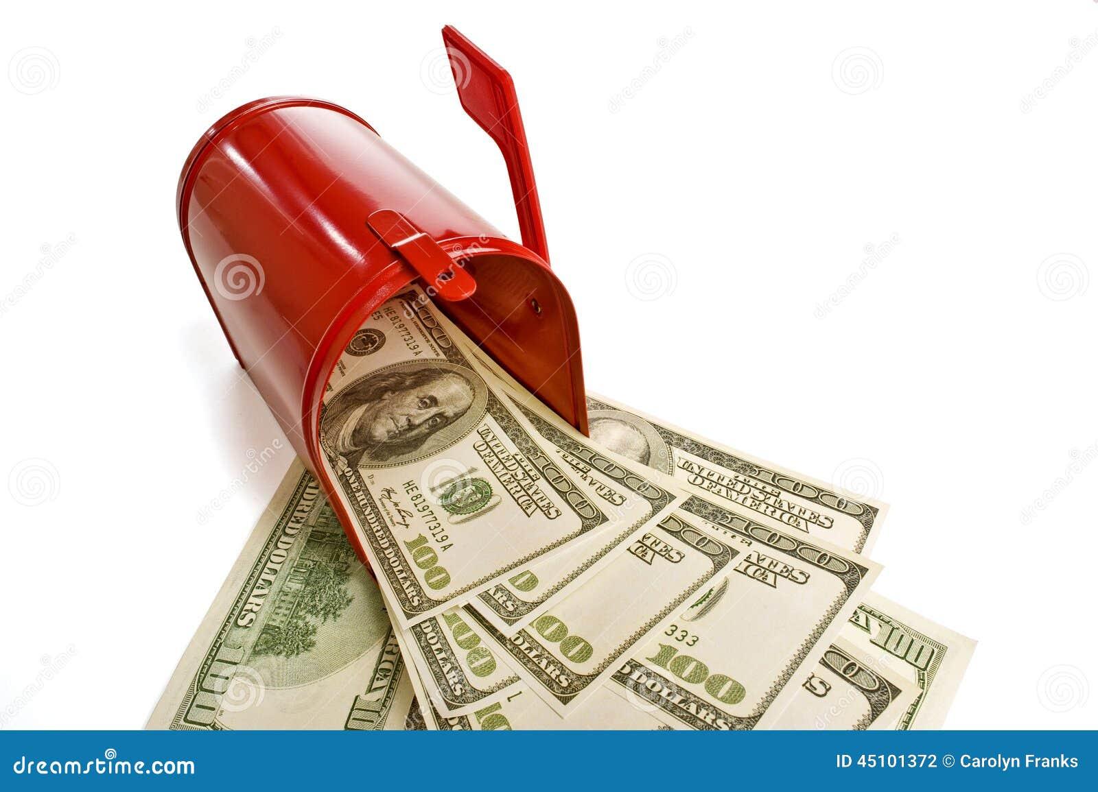 Dinheiro no correio