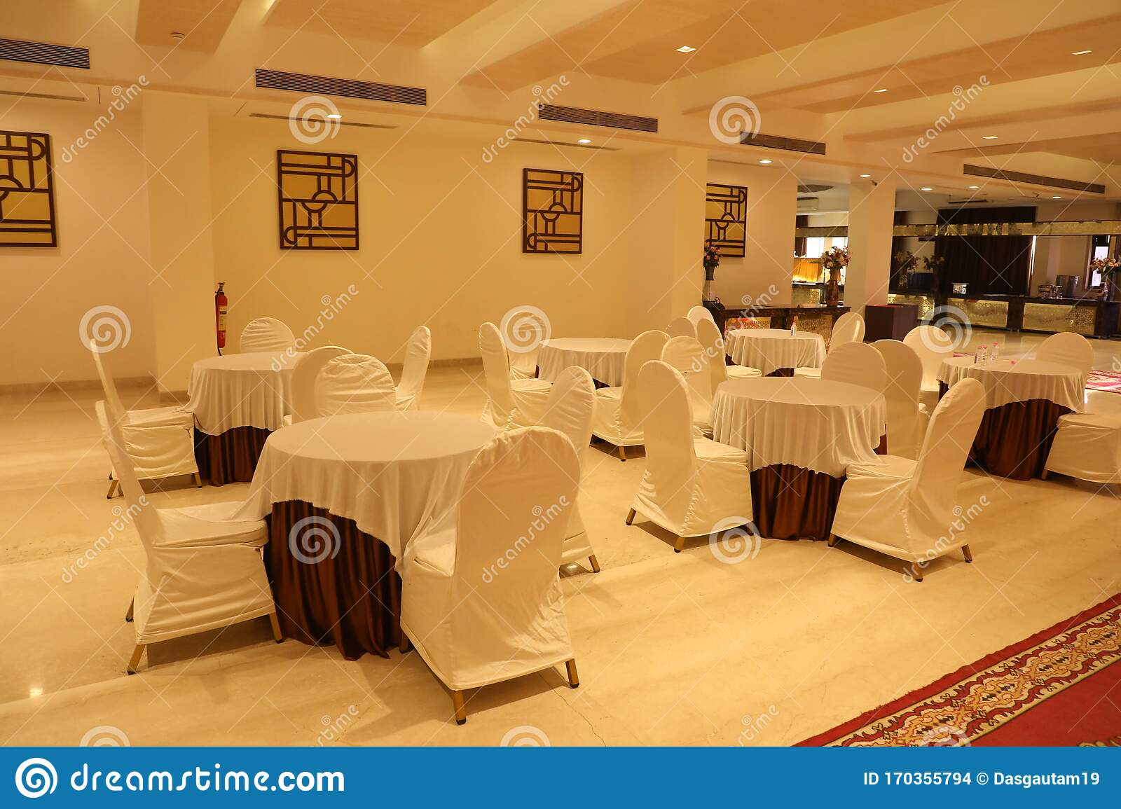 Seating Arrangement In Dining Area In Banquette Stock Photo Image Of Area Seating 170355794