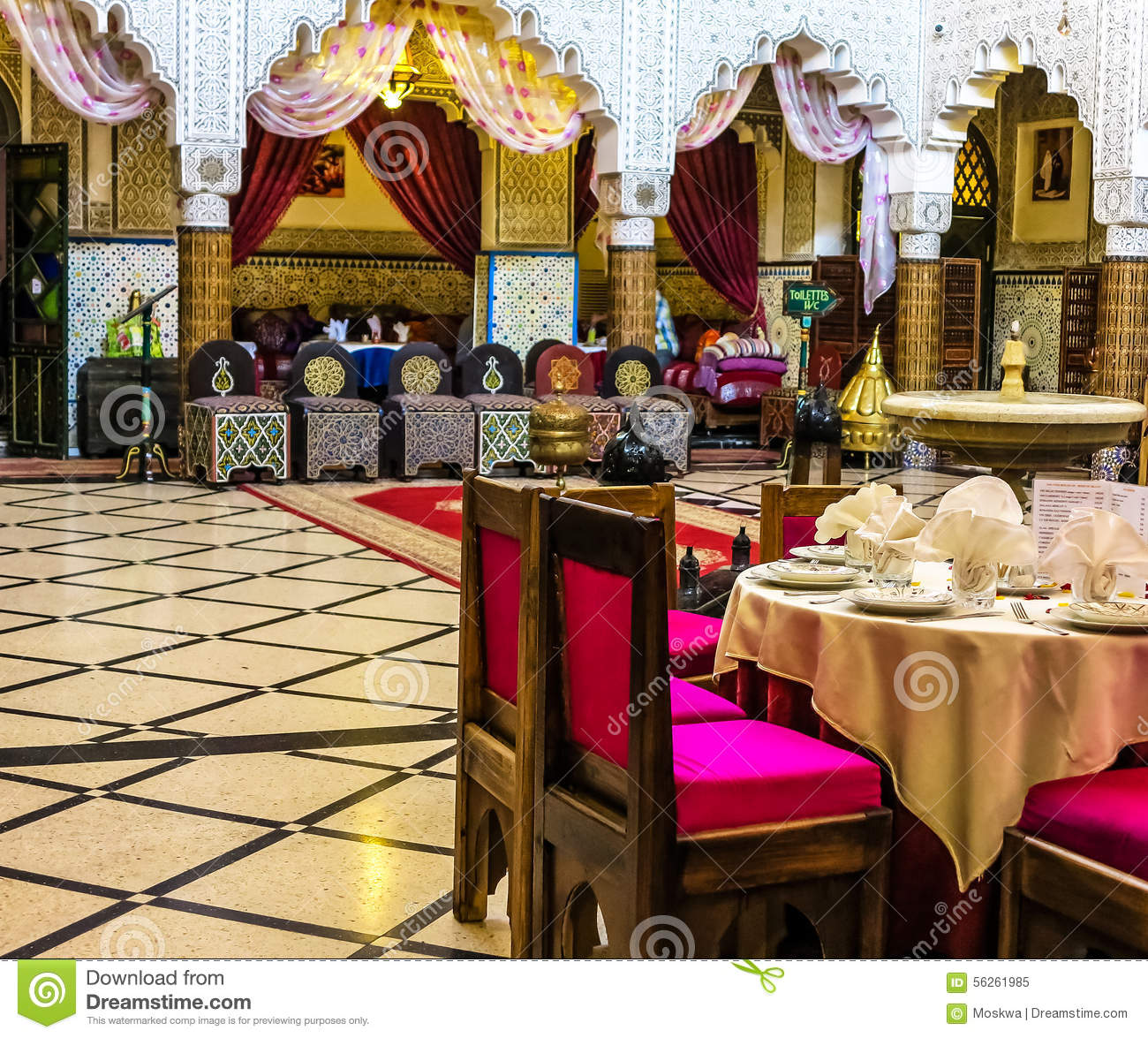 Moroccan palace stock photo 1828278 for Comedor waterdog royal house
