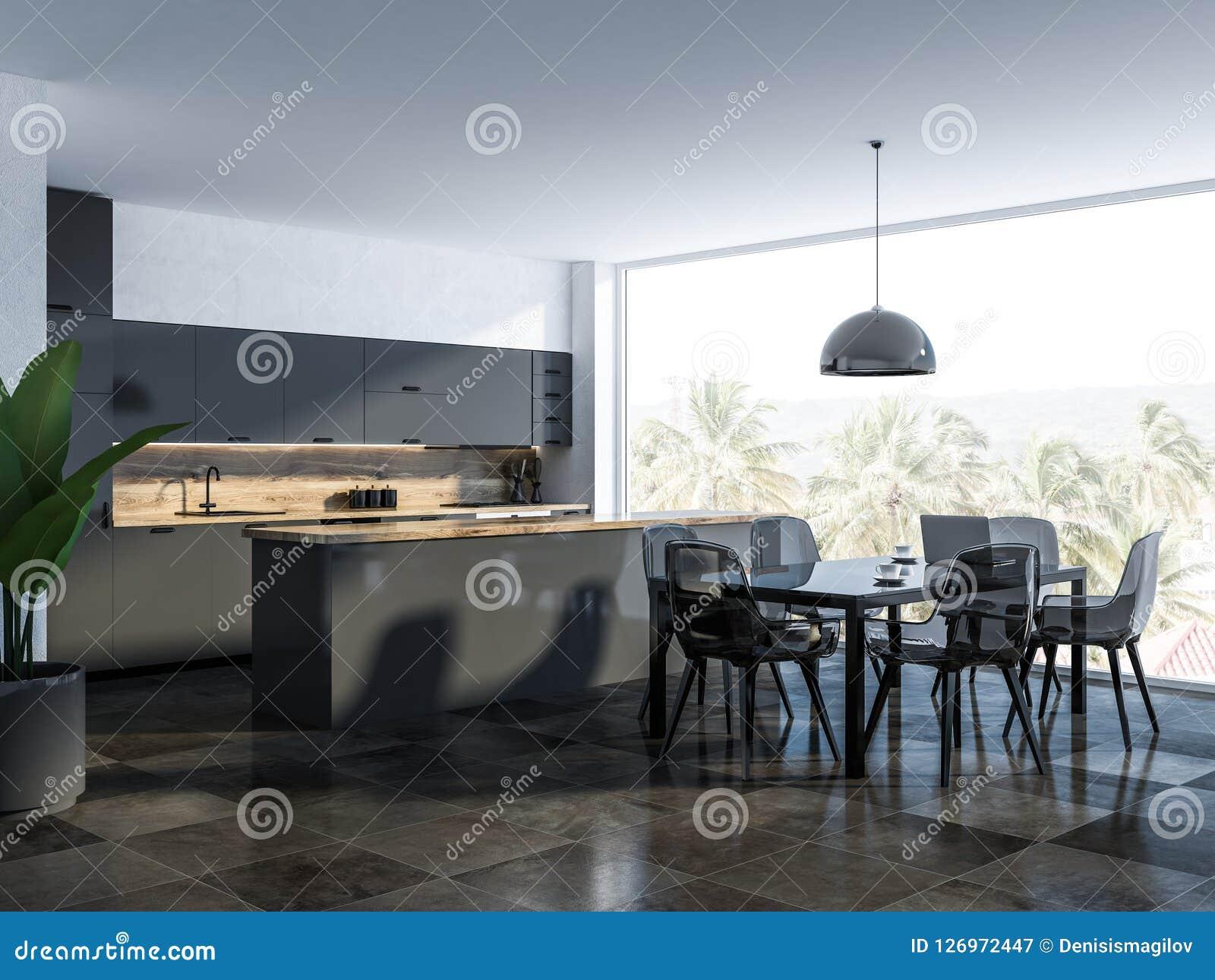 Peachy White Dining Room And Kitchen Corner Stock Illustration Ibusinesslaw Wood Chair Design Ideas Ibusinesslaworg