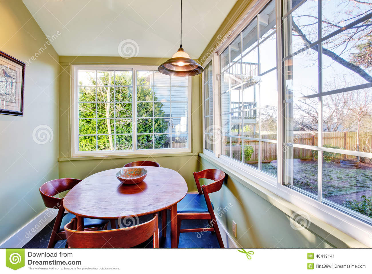 dining room interior stock photo image 40419141