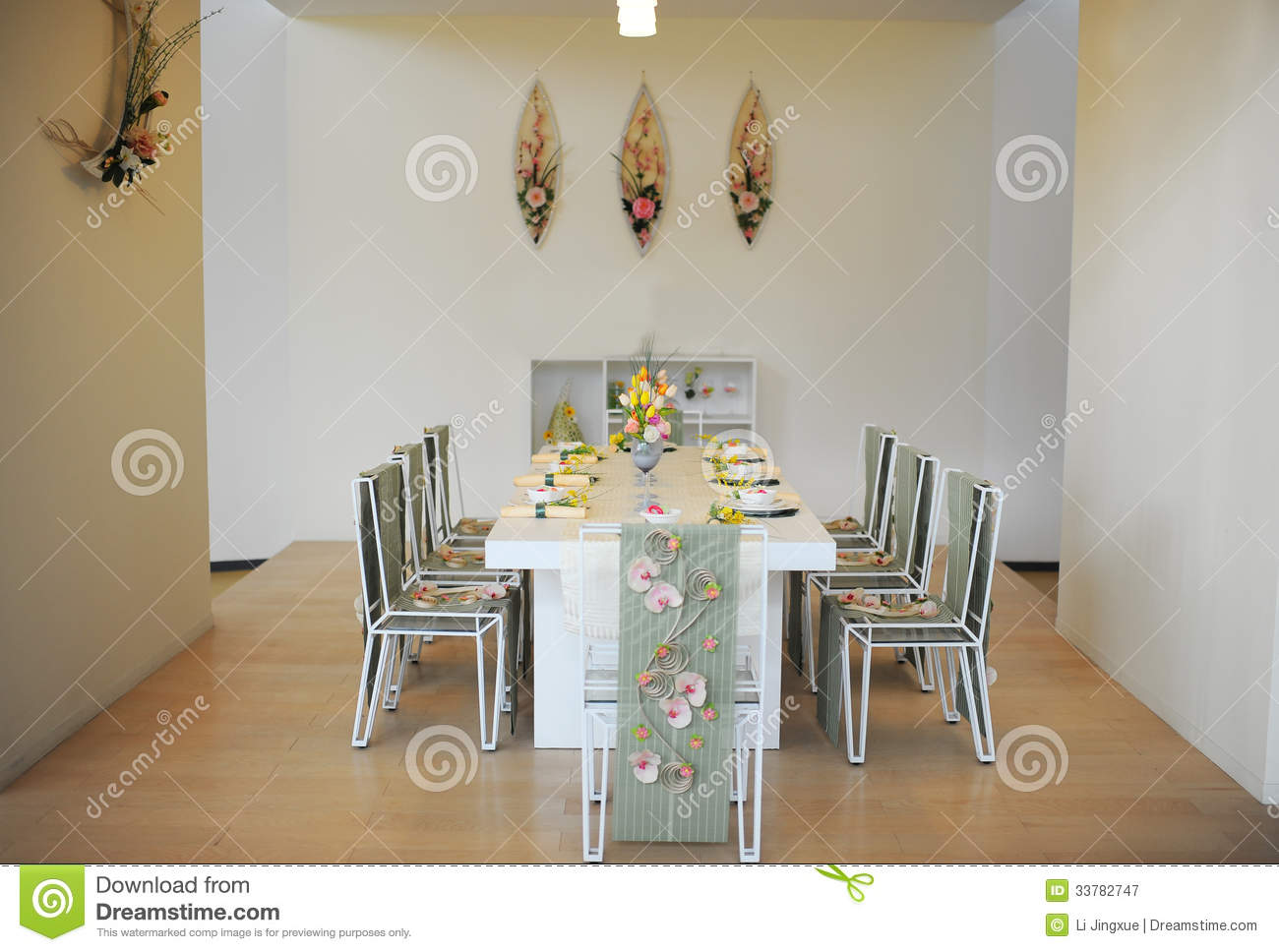 Dining Table Royalty Free Stock Photography Image 33782747