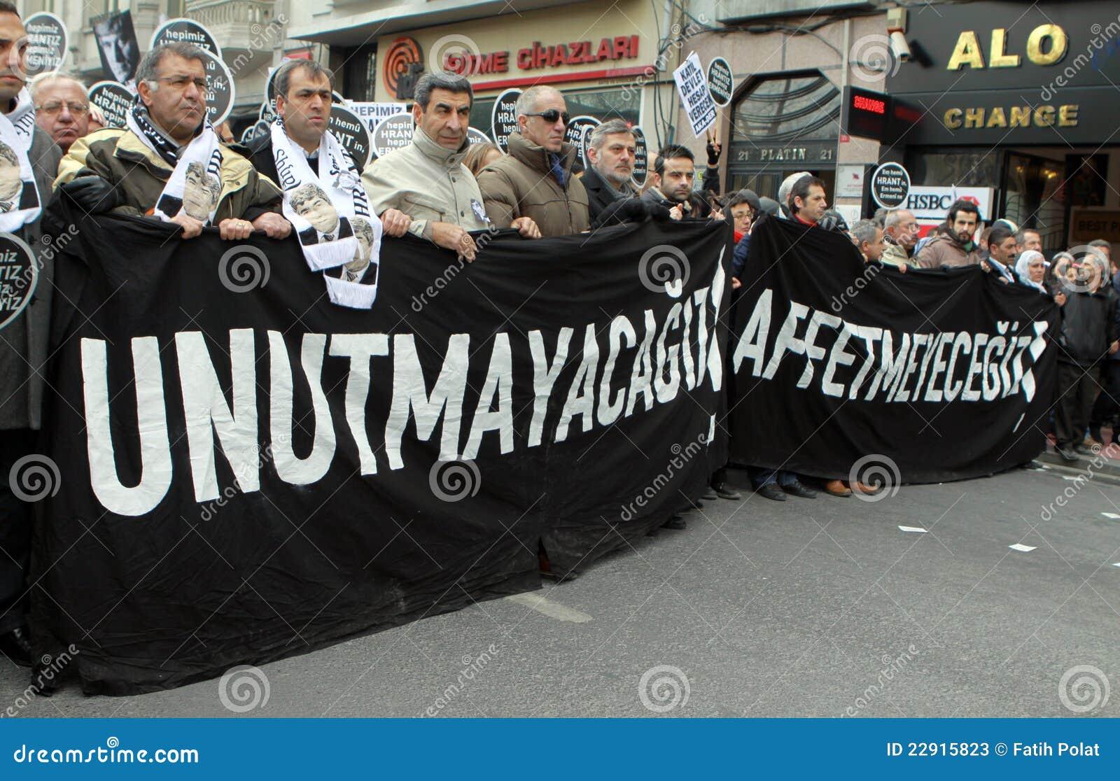 Dink hrant Istanbul pomnik