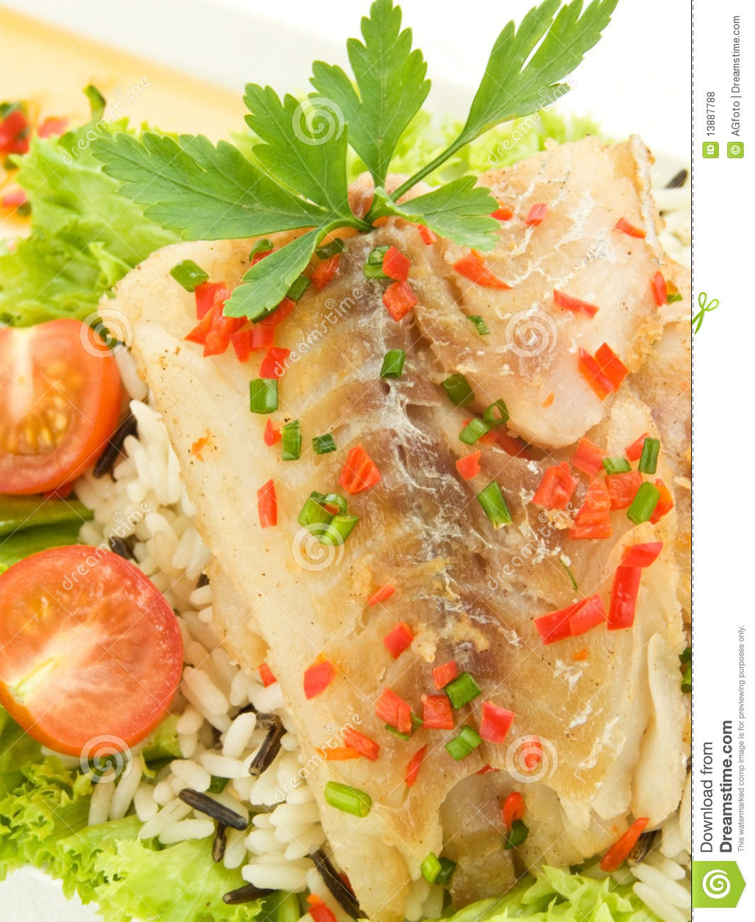Garnishes For Dinner Plates http://www.dreamstime.com/royalty-free-stock-photos-dinner-image13887788