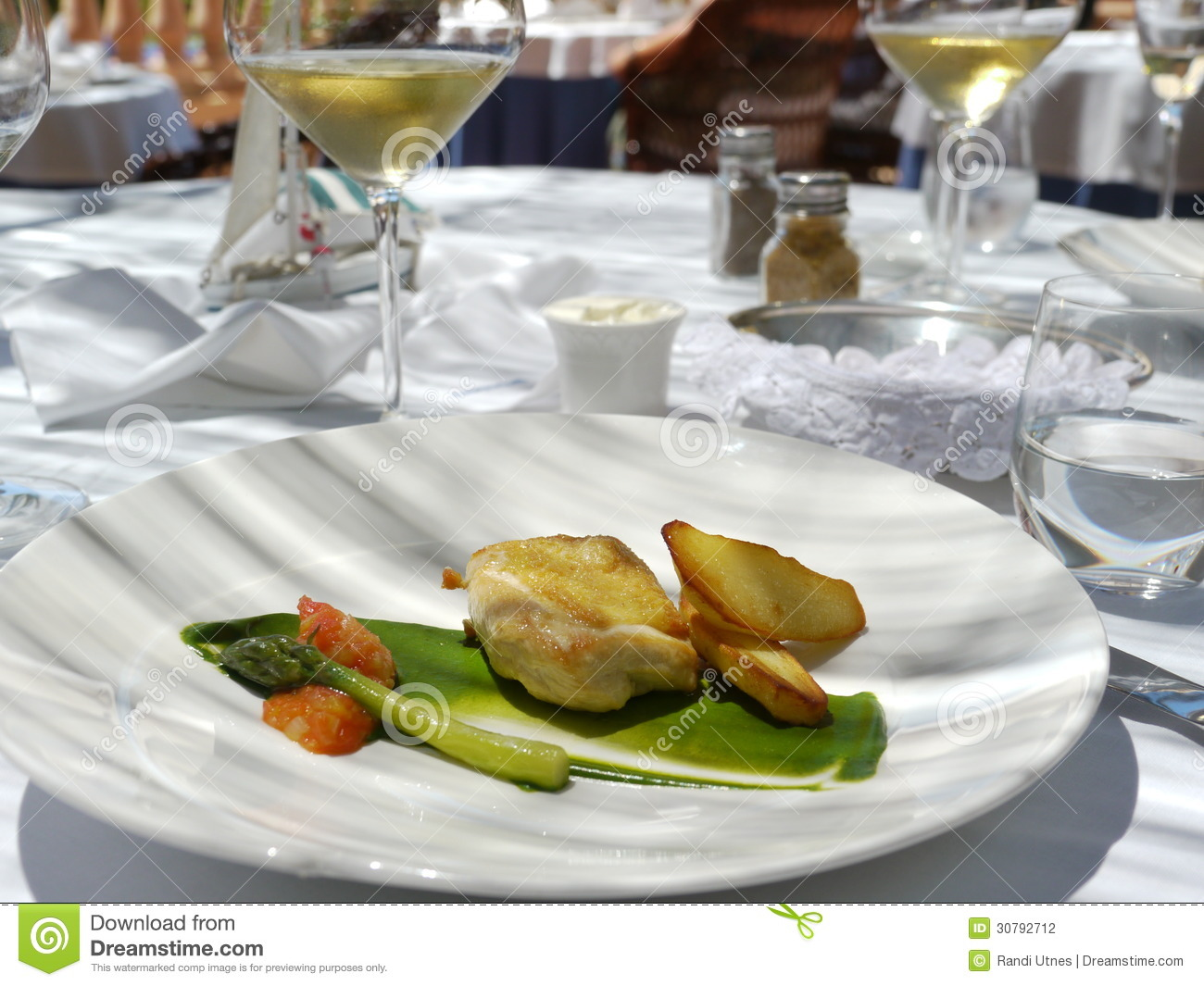 Fancy chicken meal - photo#49