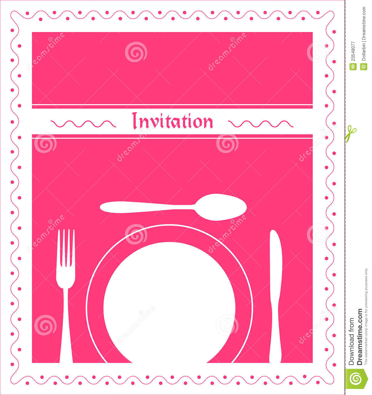 Business Lunch Invitation is best invitations design