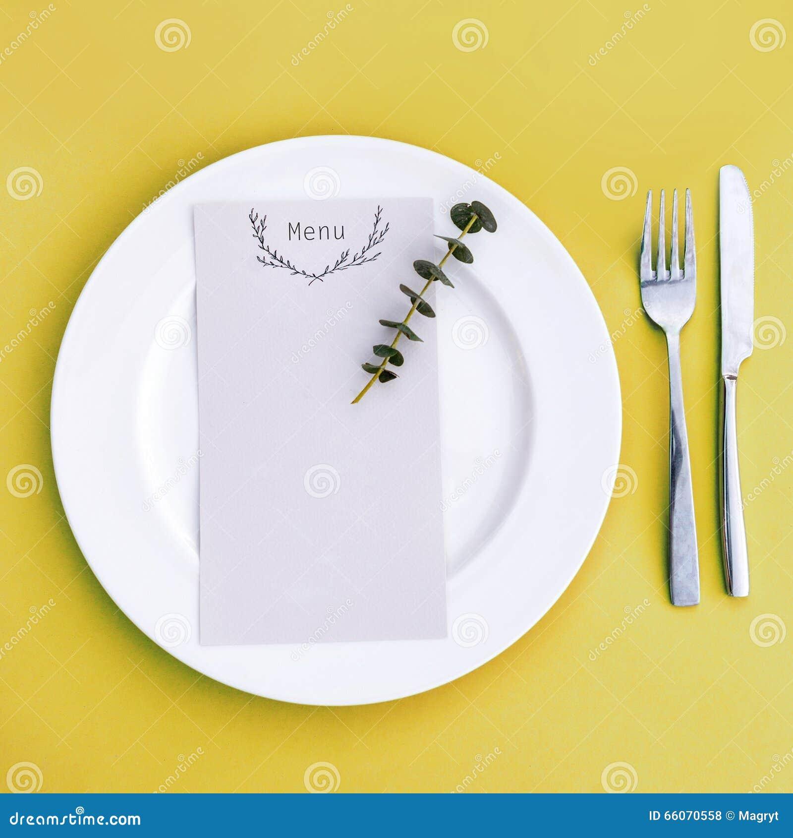 wedding dinner menu