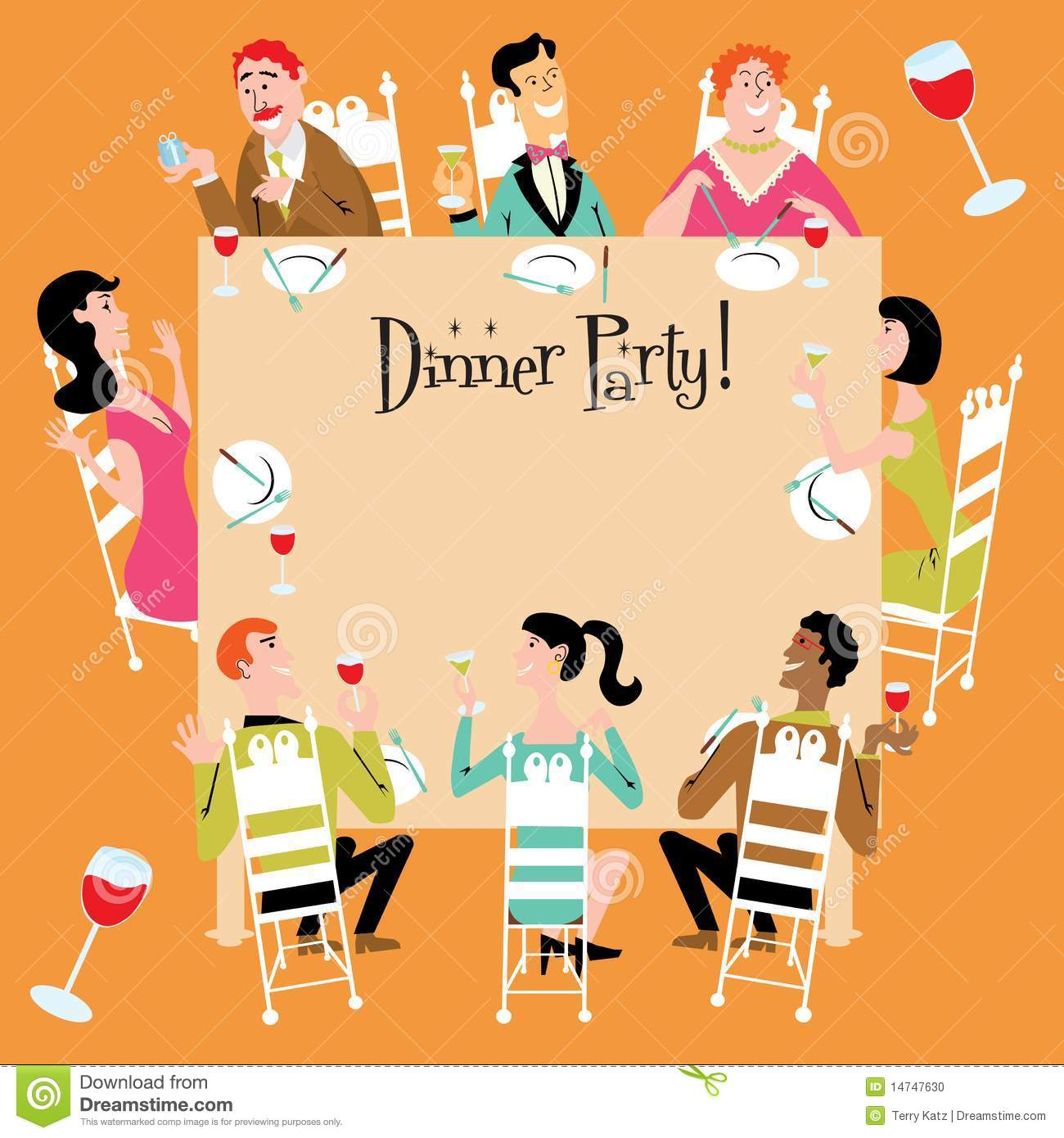 business dinner party clip art dinner party invitation a business dinner party clip art dinner party invitation a